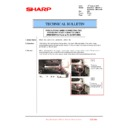 Sharp MX-2610N, MX-3110N, MX-3610N (serv.man204) Technical Bulletin