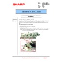 Sharp MX-2610N, MX-3110N, MX-3610N (serv.man205) Technical Bulletin