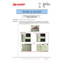 Sharp MX-2610N, MX-3110N, MX-3610N (serv.man207) Technical Bulletin