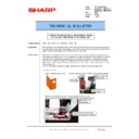 Sharp MX-2610N, MX-3110N, MX-3610N (serv.man208) Technical Bulletin