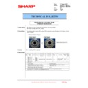 Sharp MX-2610N, MX-3110N, MX-3610N (serv.man209) Technical Bulletin