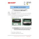 Sharp MX-2610N, MX-3110N, MX-3610N (serv.man210) Technical Bulletin