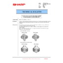 Sharp MX-2610N, MX-3110N, MX-3610N (serv.man212) Technical Bulletin