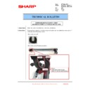 Sharp MX-2610N, MX-3110N, MX-3610N (serv.man213) Technical Bulletin