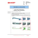 Sharp MX-2610N, MX-3110N, MX-3610N (serv.man214) Technical Bulletin