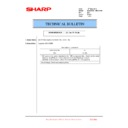 Sharp MX-2610N, MX-3110N, MX-3610N (serv.man215) Technical Bulletin