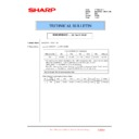Sharp MX-2610N, MX-3110N, MX-3610N (serv.man216) Technical Bulletin