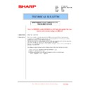 Sharp MX-2610N, MX-3110N, MX-3610N (serv.man217) Technical Bulletin