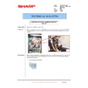 Sharp MX-2610N, MX-3110N, MX-3610N (serv.man218) Technical Bulletin