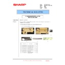 Sharp MX-2610N, MX-3110N, MX-3610N (serv.man219) Technical Bulletin