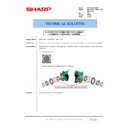 Sharp MX-2610N, MX-3110N, MX-3610N (serv.man221) Technical Bulletin