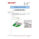 Sharp MX-2610N, MX-3110N, MX-3610N (serv.man222) Technical Bulletin