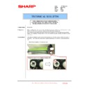 Sharp MX-2610N, MX-3110N, MX-3610N (serv.man223) Technical Bulletin