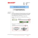 Sharp MX-2610N, MX-3110N, MX-3610N (serv.man225) Technical Bulletin