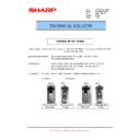 Sharp MX-2610N, MX-3110N, MX-3610N (serv.man50) Technical Bulletin