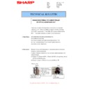 Sharp MX-2610N, MX-3110N, MX-3610N (serv.man53) Technical Bulletin