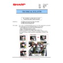 Sharp MX-2610N, MX-3110N, MX-3610N (serv.man54) Technical Bulletin