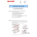 Sharp MX-2610N, MX-3110N, MX-3610N (serv.man59) Technical Bulletin