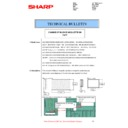 Sharp MX-2610N, MX-3110N, MX-3610N (serv.man60) Technical Bulletin