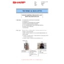 Sharp MX-2610N, MX-3110N, MX-3610N (serv.man62) Technical Bulletin