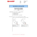 Sharp MX-2610N, MX-3110N, MX-3610N (serv.man63) Technical Bulletin