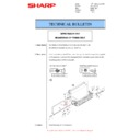 Sharp MX-2610N, MX-3110N, MX-3610N (serv.man64) Technical Bulletin