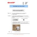Sharp MX-2610N, MX-3110N, MX-3610N (serv.man68) Technical Bulletin