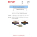 Sharp MX-2610N, MX-3110N, MX-3610N (serv.man72) Technical Bulletin