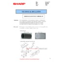 Sharp MX-2610N, MX-3110N, MX-3610N (serv.man73) Technical Bulletin