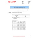 Sharp MX-2610N, MX-3110N, MX-3610N (serv.man76) Technical Bulletin