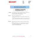Sharp MX-2610N, MX-3110N, MX-3610N (serv.man77) Technical Bulletin