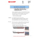 Sharp MX-2610N, MX-3110N, MX-3610N (serv.man78) Technical Bulletin