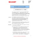 Sharp MX-2610N, MX-3110N, MX-3610N (serv.man79) Technical Bulletin