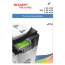 Sharp MX-2610N, MX-3110N, MX-3610N (serv.man8) Handy Guide