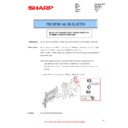 Sharp MX-2610N, MX-3110N, MX-3610N (serv.man81) Technical Bulletin