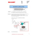 Sharp MX-2610N, MX-3110N, MX-3610N (serv.man82) Technical Bulletin