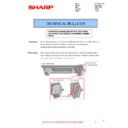 Sharp MX-2610N, MX-3110N, MX-3610N (serv.man83) Technical Bulletin