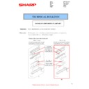 Sharp MX-2610N, MX-3110N, MX-3610N (serv.man87) Technical Bulletin