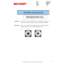 Sharp MX-2610N, MX-3110N, MX-3610N (serv.man90) Technical Bulletin
