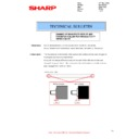 Sharp MX-2610N, MX-3110N, MX-3610N (serv.man91) Technical Bulletin