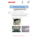 Sharp MX-2610N, MX-3110N, MX-3610N (serv.man95) Technical Bulletin