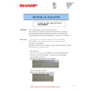 Sharp MX-2610N, MX-3110N, MX-3610N (serv.man96) Technical Bulletin