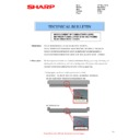 Sharp MX-2610N, MX-3110N, MX-3610N (serv.man97) Technical Bulletin