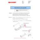 Sharp MX-2610N, MX-3110N, MX-3610N (serv.man99) Technical Bulletin