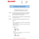Sharp MX-2614N, MX-3114N (serv.man101) Technical Bulletin