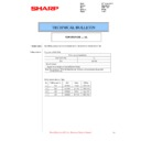 Sharp MX-2614N, MX-3114N (serv.man102) Technical Bulletin