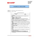 Sharp MX-2614N, MX-3114N (serv.man144) Technical Bulletin