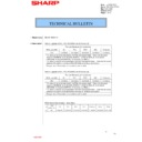 Sharp MX-2614N, MX-3114N (serv.man145) Technical Bulletin