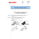 Sharp MX-2614N, MX-3114N (serv.man26) Technical Bulletin