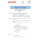 Sharp MX-2614N, MX-3114N (serv.man30) Technical Bulletin